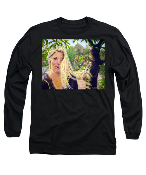 Beauty At Chalice Well Long Sleeve T-Shirt