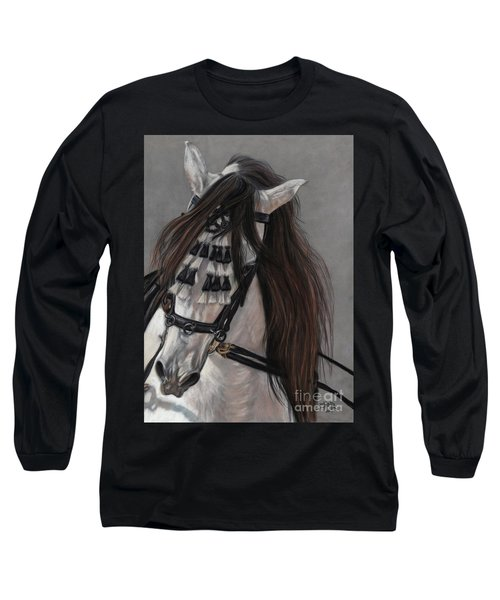 Long Sleeve T-Shirt featuring the painting Beauty In Hand by Sheri Gordon