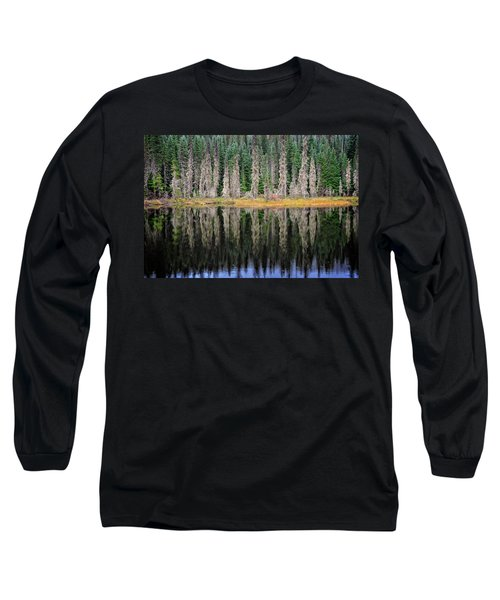 Beauty In Idaho Bog Long Sleeve T-Shirt