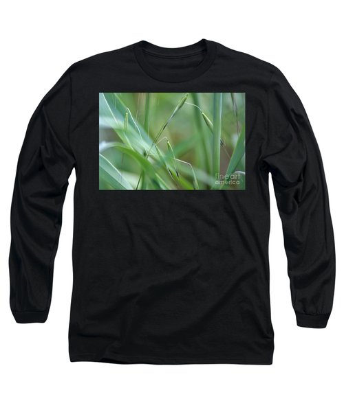 Beauty In Simplicity Long Sleeve T-Shirt by Sheila Ping