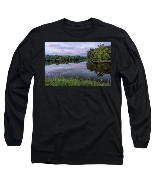 Beaver Lake Reflections Long Sleeve T-Shirt