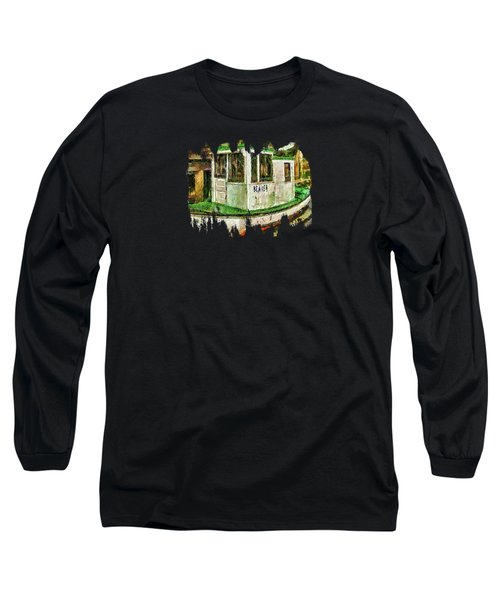 Long Sleeve T-Shirt featuring the photograph Beaver The Old Fishing Boat by Thom Zehrfeld