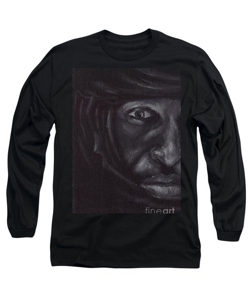 Long Sleeve T-Shirt featuring the painting Bedouin by Annemeet Hasidi- van der Leij