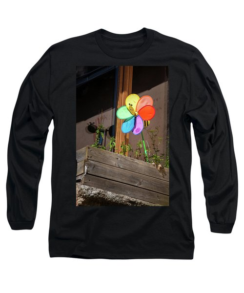 Bee A Wind Spinner? Long Sleeve T-Shirt