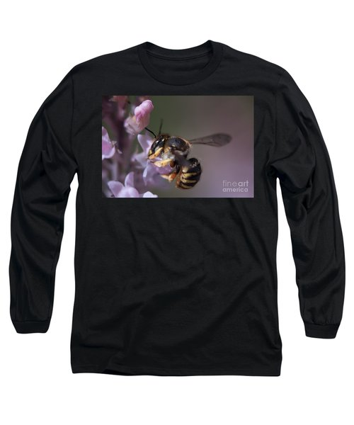 Bee Sipping Nectar Long Sleeve T-Shirt