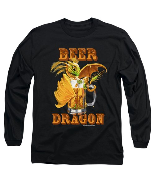 Beer Dragon Long Sleeve T-Shirt
