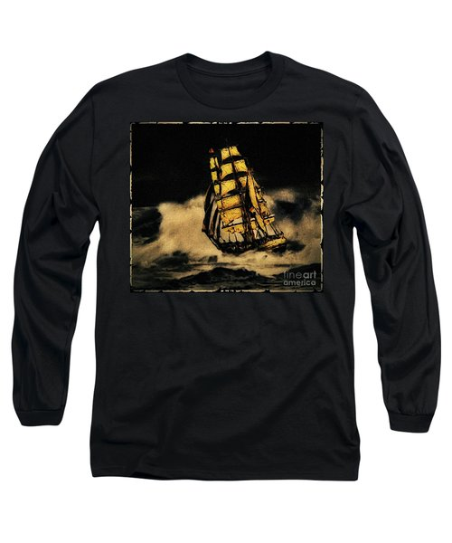 Before The Wind Long Sleeve T-Shirt by Blair Stuart