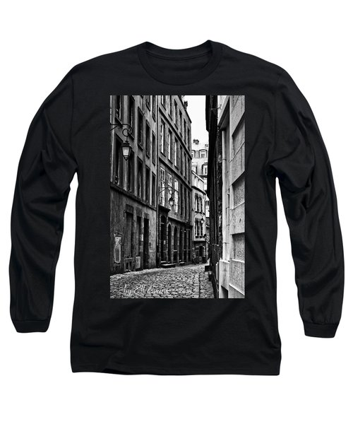 Long Sleeve T-Shirt featuring the photograph Behind The Walls  by Elf Evans