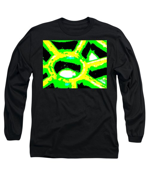 Behind The Wheel Long Sleeve T-Shirt by Tim Townsend