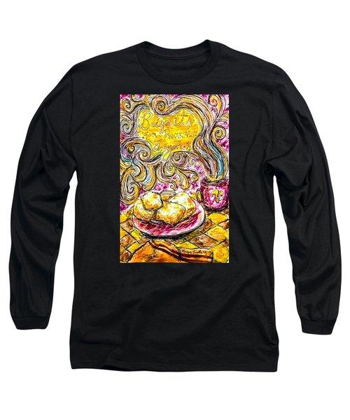 Beignets For Breakfast Long Sleeve T-Shirt