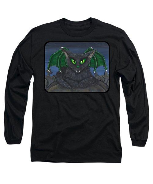 Bela Vampire Cat Long Sleeve T-Shirt