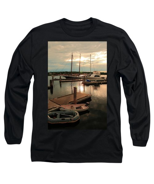 Belfast Harbor Long Sleeve T-Shirt