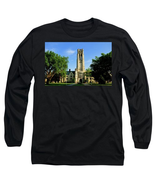 Bell Tower At The University Of Toledo Long Sleeve T-Shirt