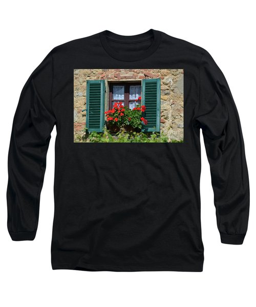 Bella Italian Window  Long Sleeve T-Shirt