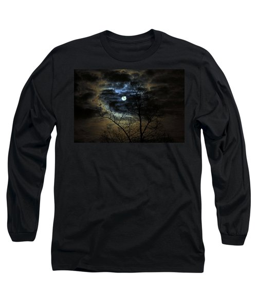 Bella Luna Long Sleeve T-Shirt by Suzanne Stout