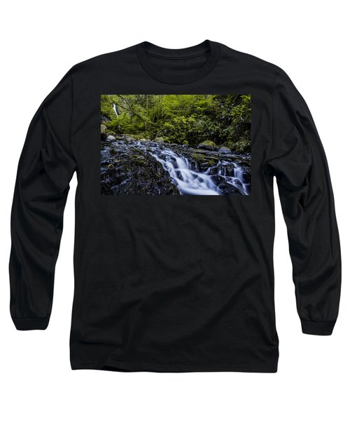 Below Pony Tail Falls Long Sleeve T-Shirt