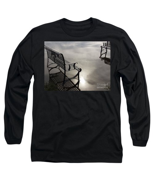 Bench In The Clouds Long Sleeve T-Shirt