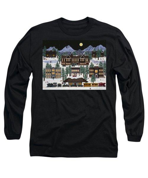 Bend @ Night Long Sleeve T-Shirt