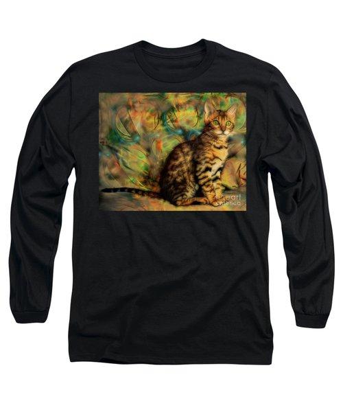 Bengal Kitten Long Sleeve T-Shirt