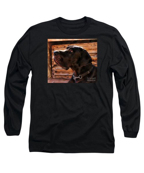 Benson Long Sleeve T-Shirt by Clare Bevan
