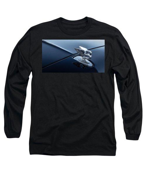 Bentley Flying B Long Sleeve T-Shirt by Douglas Pittman