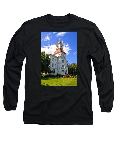 Benton Couty Courthouse Long Sleeve T-Shirt