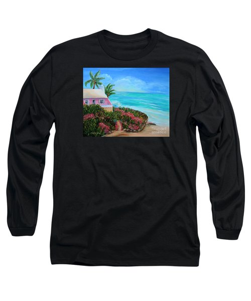 Bermuda Bliss Long Sleeve T-Shirt by Shelia Kempf