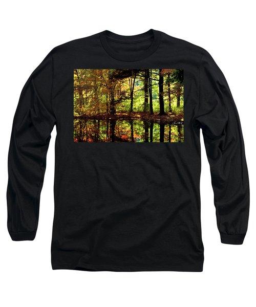 Bernharts Dam Fall 006 Long Sleeve T-Shirt
