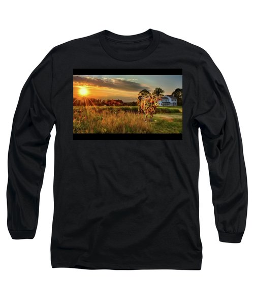 Bessie Long Sleeve T-Shirt by Mark Fuller