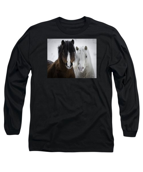 Best Friends II Long Sleeve T-Shirt by Everet Regal