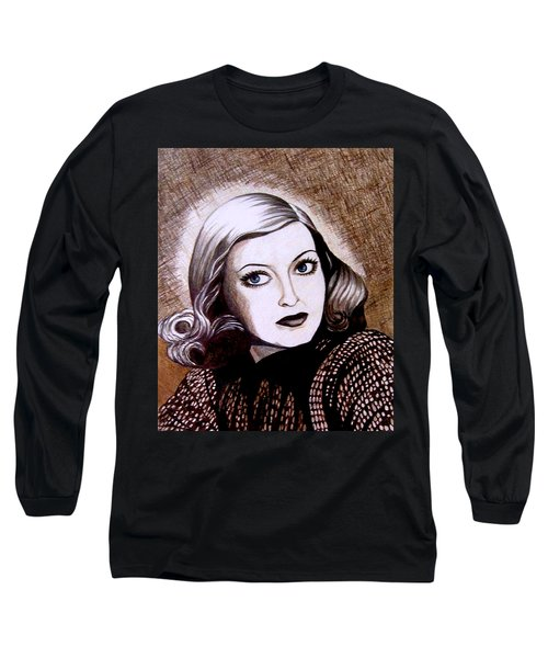 Bette Davis 1941 Long Sleeve T-Shirt