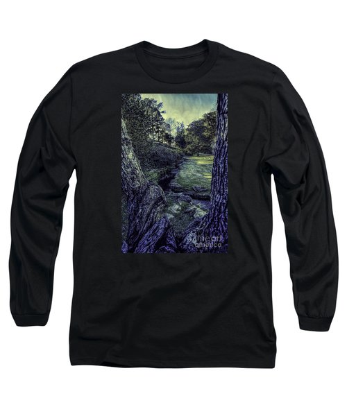 Between The Branches Long Sleeve T-Shirt by Ken Frischkorn
