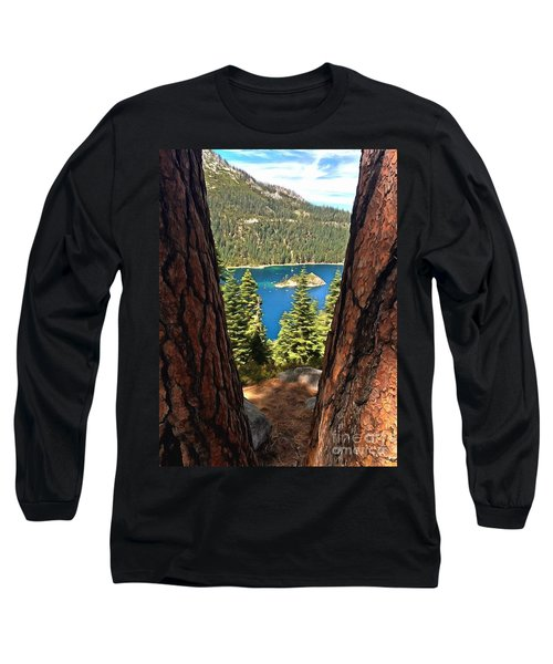 Between The Pines Long Sleeve T-Shirt