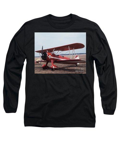 Bi-wing-1 Long Sleeve T-Shirt
