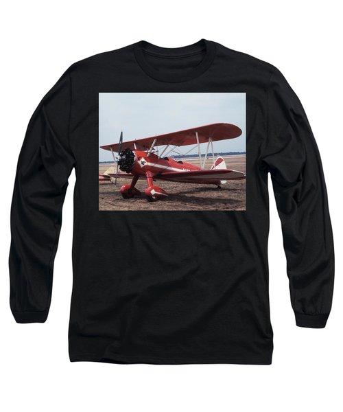 Bi-wing-6 Long Sleeve T-Shirt