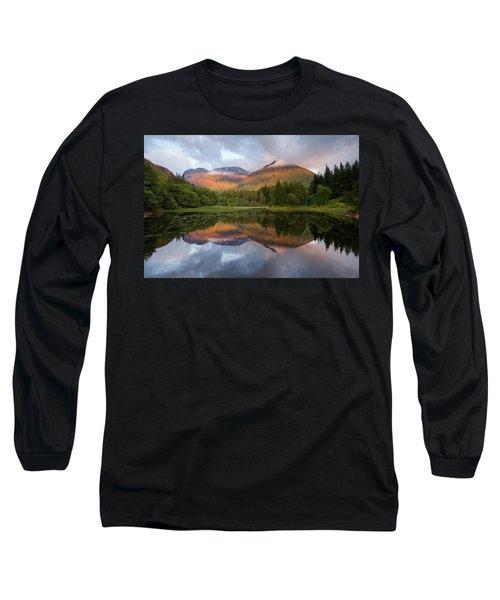 Bidean Nam Bian At Sunset Long Sleeve T-Shirt