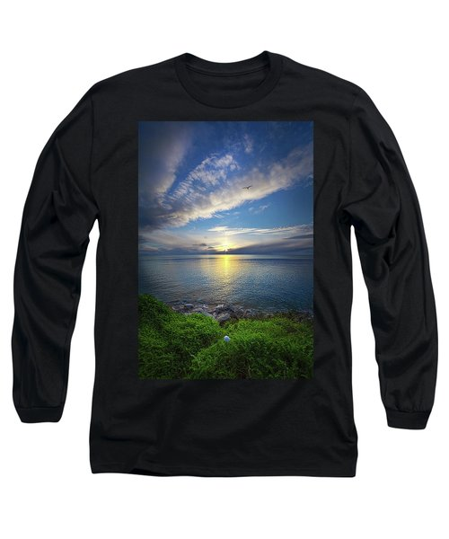 Long Sleeve T-Shirt featuring the photograph Biding Time by Phil Koch