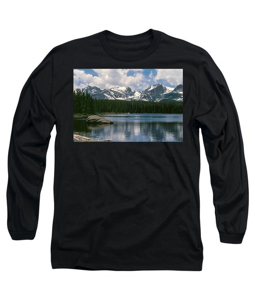 Bierstadt Lake Hallett And Otis Peaks Rocky  Mountain National Park Long Sleeve T-Shirt