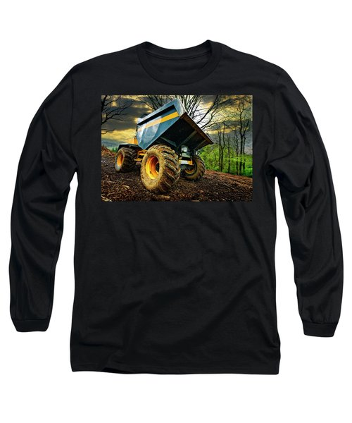 Big Bad Dumper Truck Long Sleeve T-Shirt