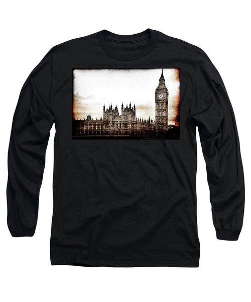 Big Bend And The Palace Of Westminster Long Sleeve T-Shirt