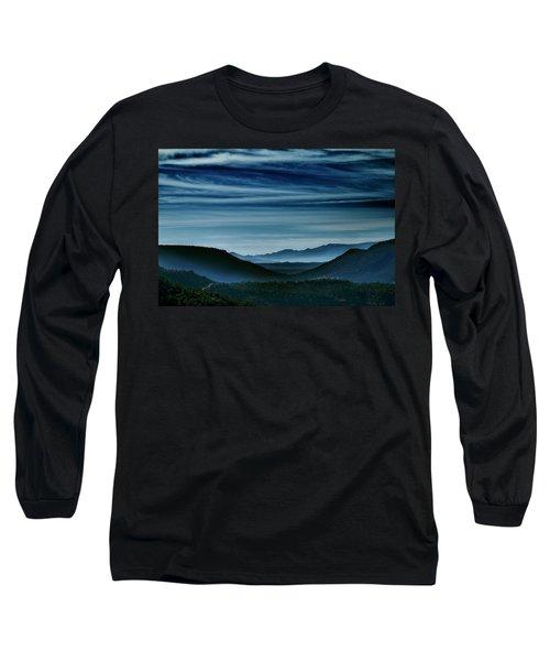 Big Bend At Dusk Long Sleeve T-Shirt