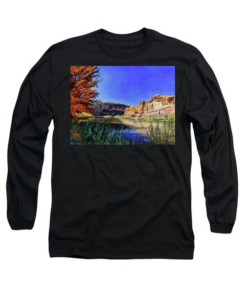 Big Bend On The Colorado Long Sleeve T-Shirt