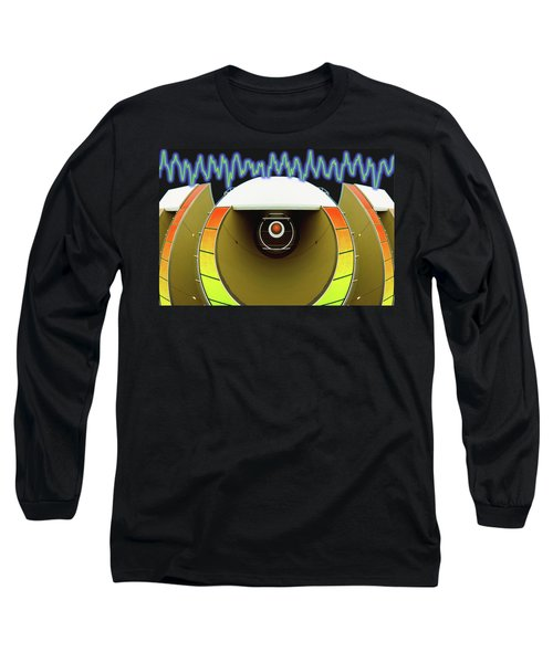 Long Sleeve T-Shirt featuring the digital art Big Boom Box by Wendy J St Christopher