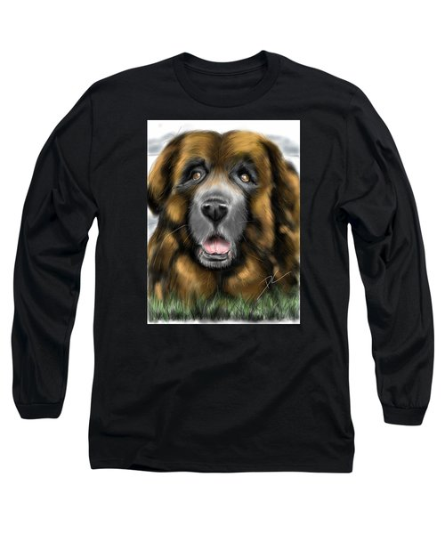 Big Dog Long Sleeve T-Shirt by Darren Cannell