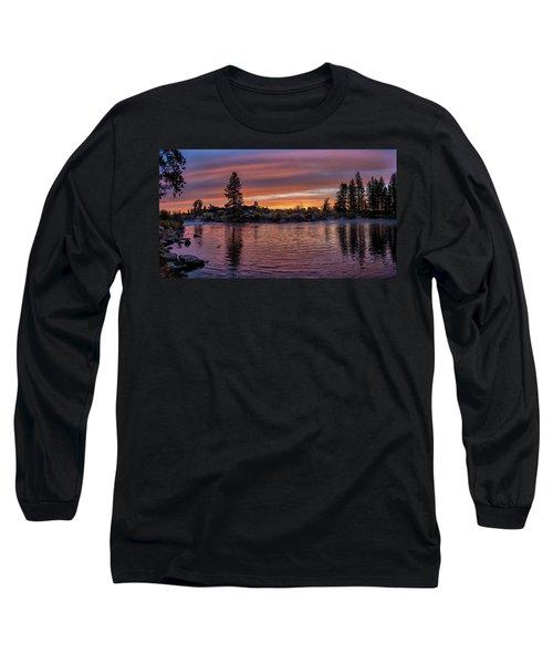 Big Eddy Sunrise Long Sleeve T-Shirt