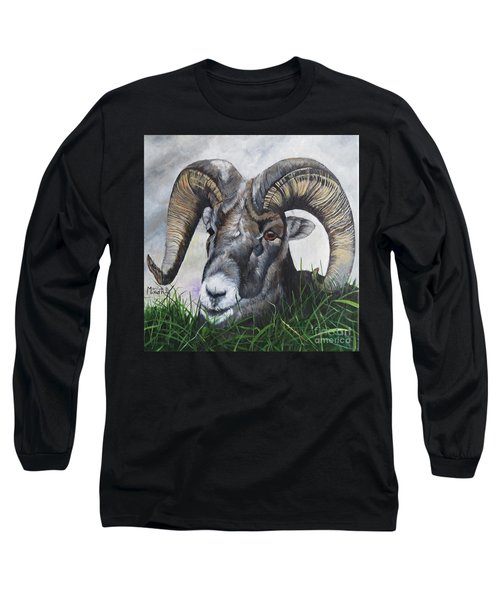 Big Horned Sheep Long Sleeve T-Shirt
