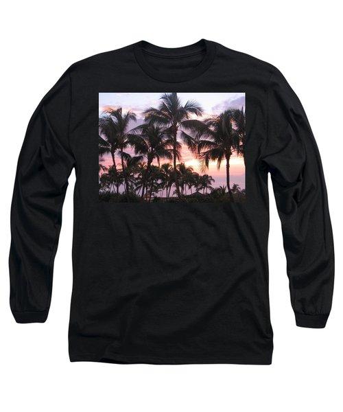 Big Island Sunset 3 Long Sleeve T-Shirt