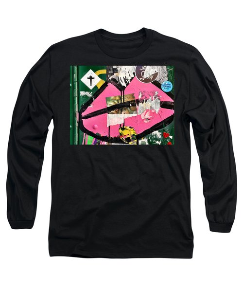 Big Kiss Long Sleeve T-Shirt by JoAnn Lense