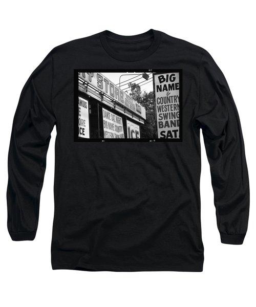Big Name Big Texas Long Sleeve T-Shirt by Carolina Liechtenstein
