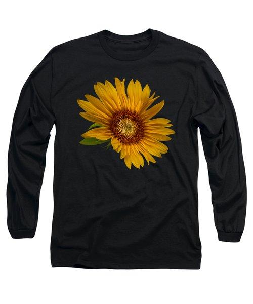 Big Sunflower Long Sleeve T-Shirt